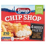 Young's Chip Shop 4 Haddock Fillets