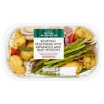 Morrisons Market St Summer Vegetables Asparagus, Red Pepper, Baby Potatoes