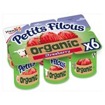 Petits Filous Organic Strawberry Fromage Frais