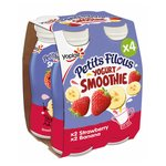 Petits Filous Yogurt Smoothie Strawberry & Banana