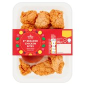 Morrisons Sweet Chilli Breaded Chicken Bites With Dip