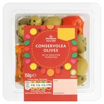 Morrisons Conserviola Olives With Roasted Tomatoes