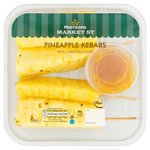 Morrisons Market St Pineapple Skewers With Tropical Coulis