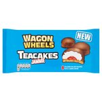 Wagon Wheels Teacakes Jammie 8 per pack