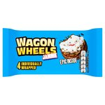 Wagon Wheels Jammie 4 per pack