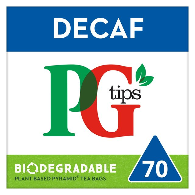PG tips Decaffeinated 70 Tea Bags