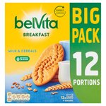 BelVita Breakfast Biscuits Milk & Cereals 12 Pack