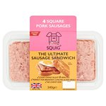 Squig Square British Pork Sausages