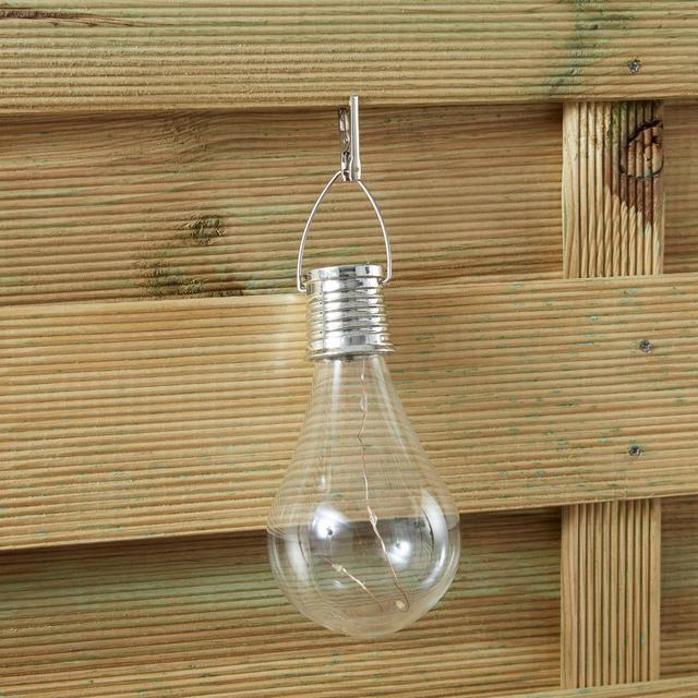 Morrisons Light Bulb Solar Light