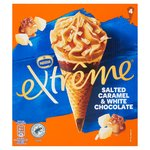 Nestle Extreme Salted Caramel & White Chocolate Cones