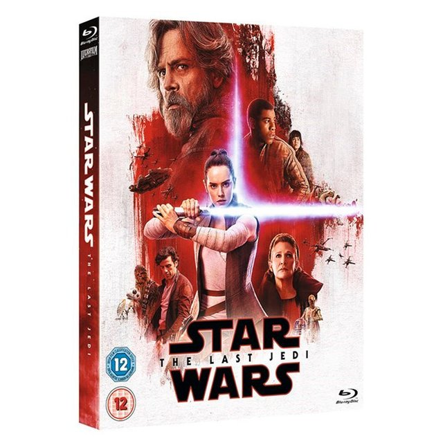 Star Wars Last Jedi Blue Ray Resist