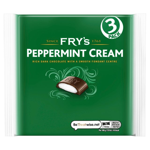 Fry's Peppermint Cream Chocolate Bar 3 Pack