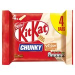 Kit Kat Chunky White Chocolate 4 Bars