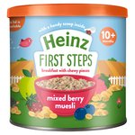 Heinz Strawberry Raspberry & Blueberry Muesli 10+ Months