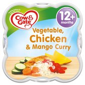 Cow & Gate Vegetable Chicken & Mango Curry Baby Meal Tray