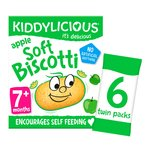 Kiddylicious Apple Soft Biscotti 7+ Months