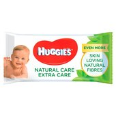 Huggies Natural Care Extra Care With Aloe Vera 56 Wipes