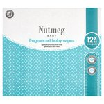 Morrisons Nutmeg Fragranced Baby Wipes 12 X 64 Wipe Pack