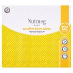 Morrisons Nutmeg Fragrance Free Baby Wipes 12 X 64 Wipe Pack