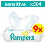 Pampers Sensitive Protect 504 Baby Wipes