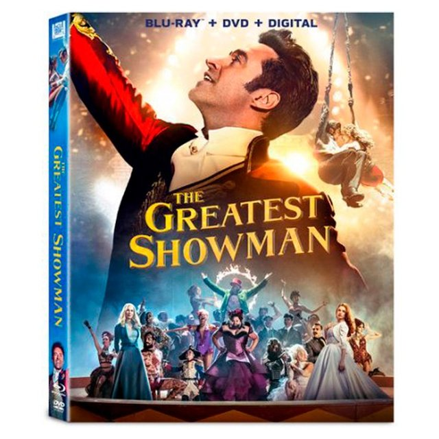 The Greatest Showman Blu Ray