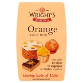 Wright's Baking Orange Cake Mix 500G