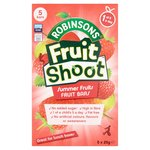 Robinsons Fruit Shoot Summer Fruits Fruit Bars