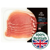 Morrisons The Best Smoked Hampshire Breed Traditionally Cured Back Bacon