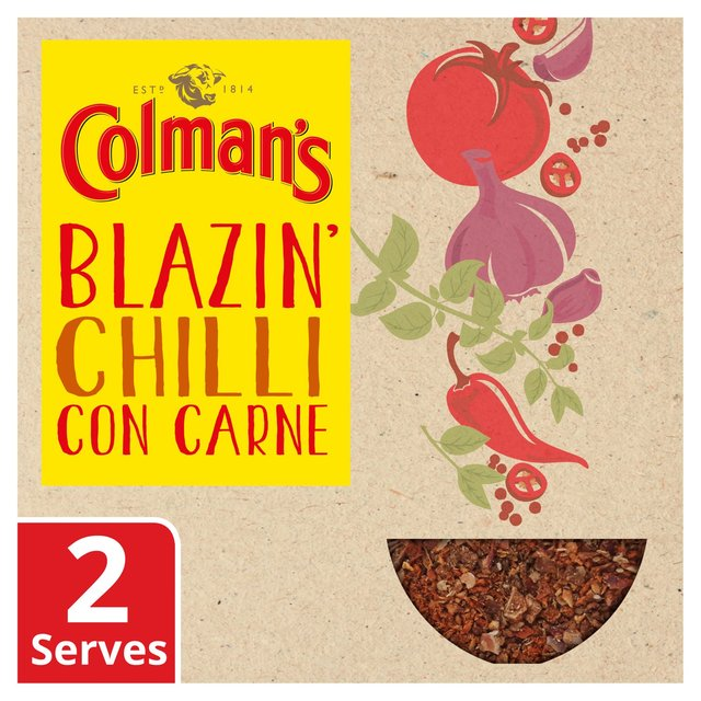 Colman's Blazin Chilli Con Carne Recipe Mix