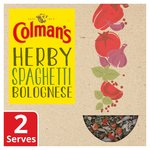 Colman's Natural Blends Indulgent Spaghetti Bolognese