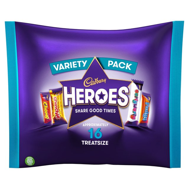 Cadbury Heroes Friends Bag 16 Treat Size
