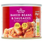 Morrisons Baked Beans & Sausages