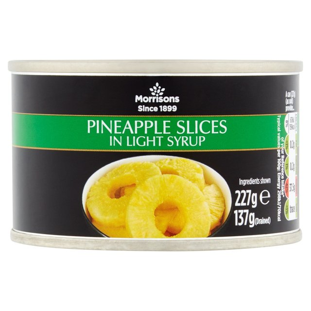 M Pineapple Slices In Light Syrup (227g)