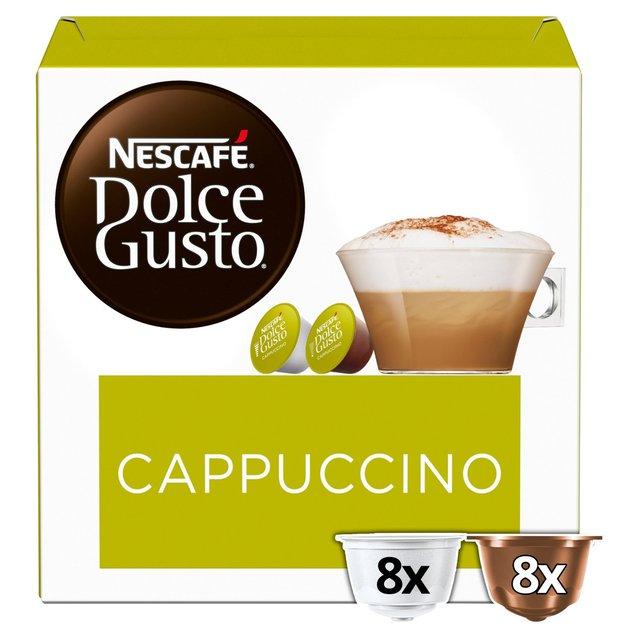 Nescafe Dolce Gusto Cappuccino Coffee Pods x 16