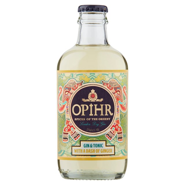Opihr Gin & Tonic With A Dash Of Ginger (Abv 6.5%)