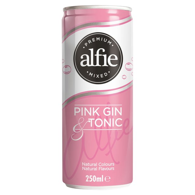 Alfie Pink Gin & Tonic (Abv 4%)
