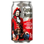 Captain Morgan Original Spiced Gold & Cola (Abv 5%)