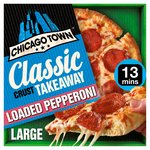 Chicago Town Takeaway Large Pepperoni Pizza