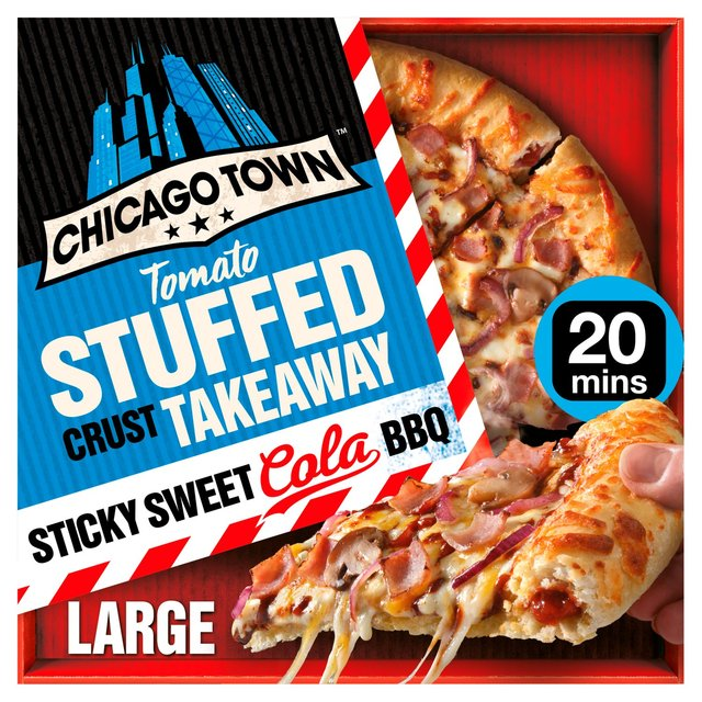 Morrisons Chicago Town Takeaway Stuffed Sticky Sweet Cola