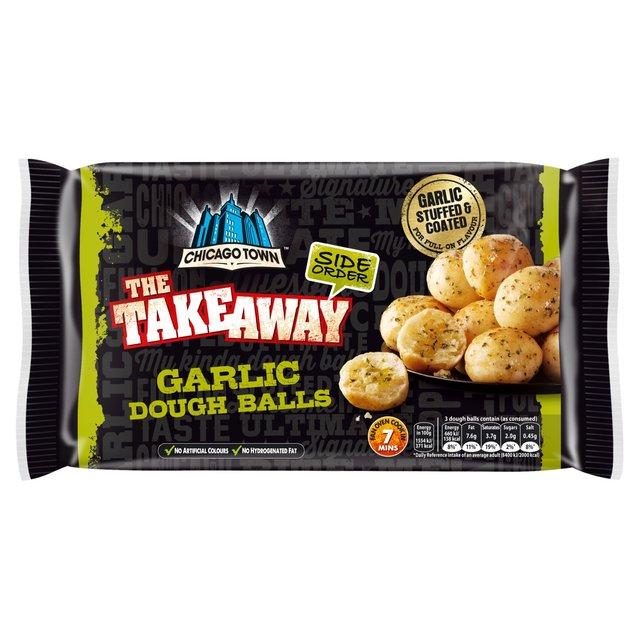 Morrisons Chicago Town Takeaway 12 Garlic Dough Balls 170g