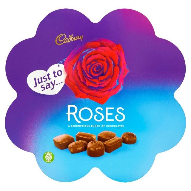 Cadbury Roses Flower Chocolate Gift Box