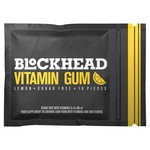 Blockhead Vitamin Gum Lemon 10 Pieces