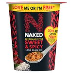 Naked Rice Long Grain Rice Szechuan Sweet & Spicy