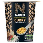 Naked Rice Long Grain Rice Malaysian Curry