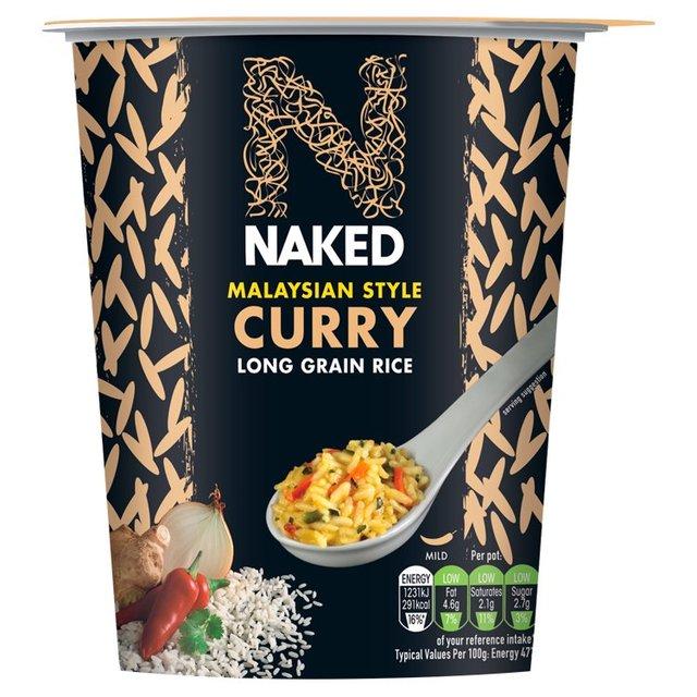 Naked Rice Long Grain Rice Malaysian Curry