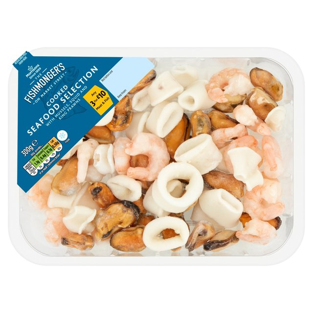 Morrisons Fishmongers Frozen Cooked Seafood Selection