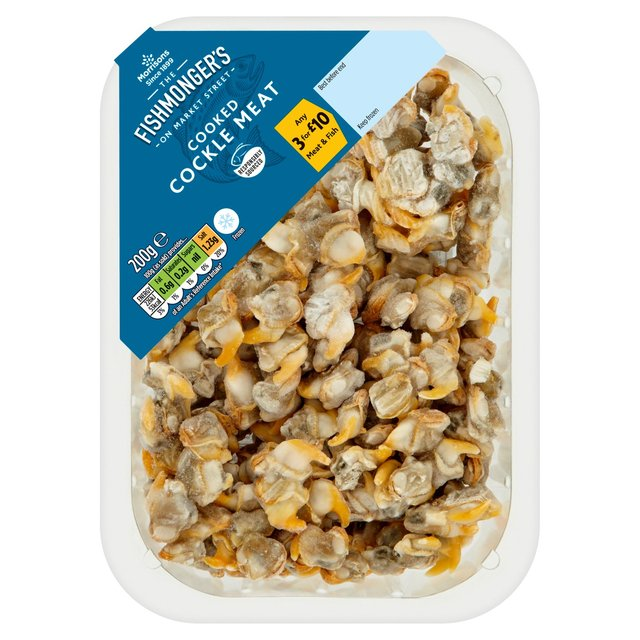 Morrisons Market St Cooked Cockles 200G
