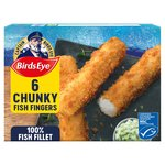 Birds Eye 6 Chunky Fish Fingers