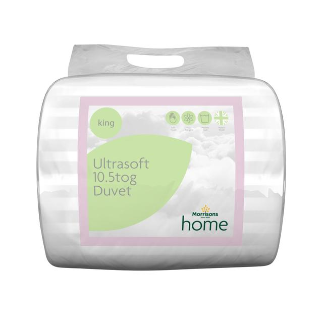 Morrisons Ultra Soft 10.5 Tog Duvet King