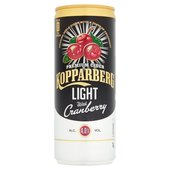 Kopparberg Light With Cranberry (4%)